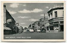 "Vintage Postcard: ""PARK AVENUE"" [Idaho Falls, Idaho]"