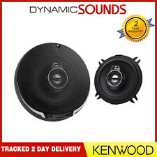 Kenwood 640w Total 2way 5.25 Inch 13cm Car Door/shelf CAXIAL Speakers Pair