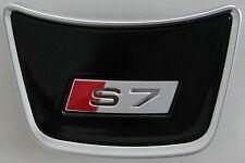 Audi A7 original S7 Lenkradclip Logo Clip Schriftzug Emblem Lenkrad Sportback RS
