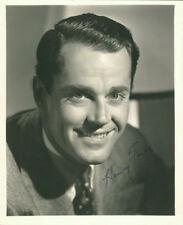 Henry Fonda (Vintage) signed photo COA