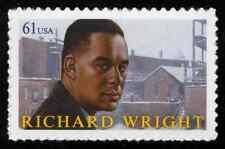 #4386 61c Richard Wright, Mint **ANY 4=FREE SHIPPING**