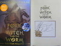 SIGNED The Fork The Witch and The Worm Tales From Alagaësia V1 Eragon Paolini
