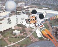 Antigua & Barbuda 1988 Disney World/Mickey Mouse/EPCOT/Cartoons 1v m/s (b1479)