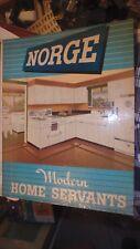 1948 dealers catalog- NORGE  Modern Home Servants catalog in Norge binder