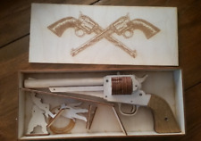 Rubber band gun revolver remington 1875 6 shooter