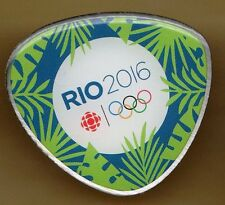 RIO 2016. OLYMPIC GAMES. MEDIA PIN. CBC. CANADIAN BROADCASTING CORPORATION