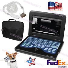 Veterinary Portable laptop Digital Ultrasound Scanner Machine for dog/cat animal