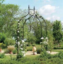 Wedding Arbor Ivy Trellis Rose Garden Arch Metal 8 ft Patio Deck Outdoor Iron