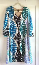 ISSA London Silk Kaftan Beach Maxi Summer Dress Size 8 M