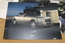 ROLLS-ROYCE PHANTOM DROPHEAD COUPÉ Product overview brochure 0192 2 286 811