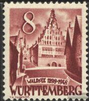Franz. Zone-Württemberg 32 gestempelt 1948 Freimarke