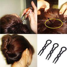 3Pcs Girls New Round Toe U-shaped Hair Pins Bobby Pin Barrette Hair Accessories