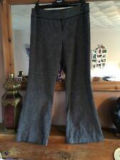 Kaleidoscope Brown Herringbone Trousers Size 14