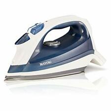 Speed Heat Steam Iron Vertical Steamer Stainless Steel Sole Plate Self Cleaning