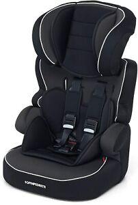 Seggiolino Auto per Bambini 9-36 Kg Gruppo 1 2 3 Nero Foppapedretti Babyroad