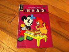 Vintage Walter Lantz Andy Panda #6 Comic Book Charlie Chicken Gold Key Classic