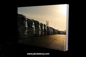 BTCC 2021 Paddock Silverstone Motor Sport Canvas