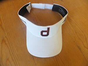 "Super RARE Dustin Johnson ""d"" Taylormade/Adidas golf visor"