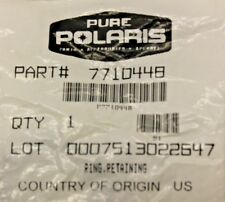 NEW POLARIS DRIVEN CLUTCH RETAINING RING LOT OF 8