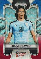 2018 Panini Prizm World Cup Russia '18 Uruguay Red Blue Wave Parallel #209-#216
