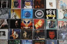 Pop, Rock, Jazz, Fusion, Latin Cd Lot You Choose 5 for $25