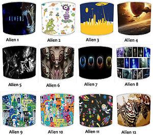 Weltraum Lampenschirme, Passt Ideal Zu Alien UFO Kissen Bettwäsche Bettdecke