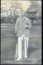 C H B Marsham: Kent County Cricketer. 1910 Vintage Postcard. Free UK Postage
