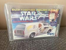 1977 MPC Star Wars Luke Skywalker Van Model Kit Factory Sealed Stunning AFA 85