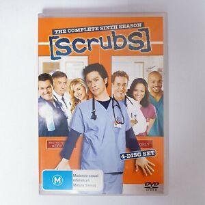 Scrubs Season 6 TV Series DVD Region 4 AUS - 4 x Disc Set Comedy