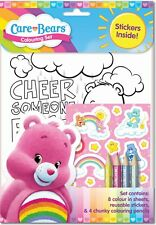 Care Bears Children's A4 Colouring Activity Set With Scented Stickers & Pencils