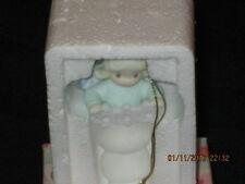 Precious Moments Angel with Snowflake Trio Ornament 952346