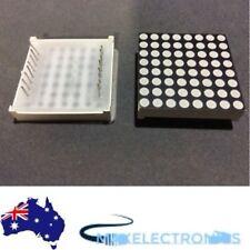 LED Dot Matrix, 8x8, 3mm LEDs, 32x3mm, Arduino/PIC/Raspberry