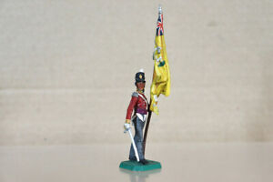 ROSE MINIATURES STADDEN NAPOLEONIC BRITISH FOOT SOLDIER with COLOURS nz