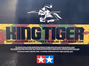 tamiya 1/16 king tiger Full Option 1/16 Rc