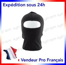 CAGOULE 1 TROU NOIRE   POLICE_AIRSOFT_PAINTBALL_SWAT_RAID_GIGN_FORCES SPECIALES