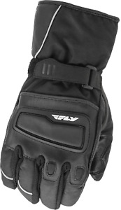 FLY RACING XPLORE BLACK ADV Gauntlet Textile Gloves FREE SHIPPING
