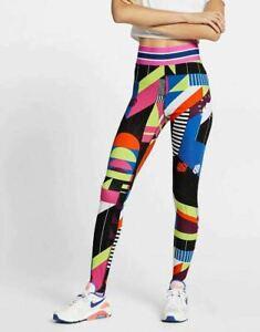Nike Sportswear NSW Women's Allover Print Leggings AR9856-010; Size XL