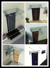 Home Systeme - Glasvordach Klarglas Vordach Türvordach Türdach Edelstahl VSG
