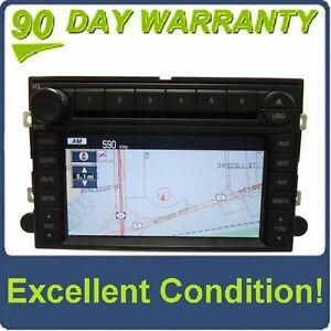 2006 - 2009 Ford Lincoln Mercury OEM DATA Navigation GPS Radio 6 Disc Changer