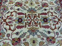 8'x10' New Hand knotted wool Super Serapi Floral Oriental Floral Mahal area rug