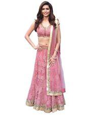 Designer Wear Lengha Party Wedding Indian Lehenga Choli SET Pink Pakistani Dress