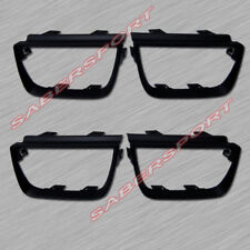 Set of 4pcs Matte Black Taillights Trim Bezel for 2010-2013 Chevrolet Camaro