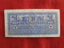 Germany WWII WW II World War Banknote for use German army Werhmacht III Reich