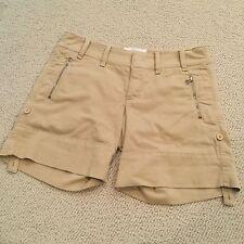 NWT American Colors Classics by Alex Lehr tan shorts size 34.