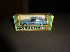 Novoexport vintage mint/box Moskvitch ALEKO pristine 1/43 Top