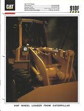 Equipment Brochure - Caterpillar - 910F - Wheel Loader - 1993 (E3946)