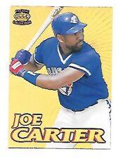 JOE CARTER 1995 PRISM GOLD #4 TORONTO BLUE JAYS     FREE COMBINED S/H
