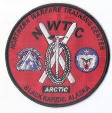 "4 1/2"" Northern Warfare Training Center (NWTC) Embroidered Patch - Alaska Arctic"