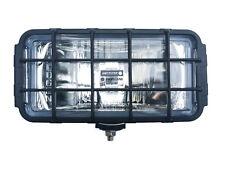 Fernscheinwerfer Zusatzscheinwerfer Halogen Chrom 195x95x88 Schutzgitter 12 24V