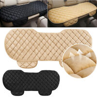 Comfortable Car Black Rear Back Seat Cover Protective Mat Chair Cushion Pads